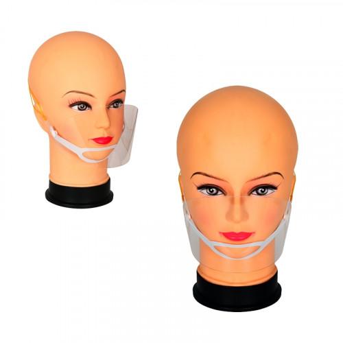 Предпазна лицева маска /прозрачна/